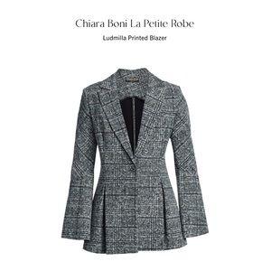 Chiara Boni Ludmilla Printed Blazer